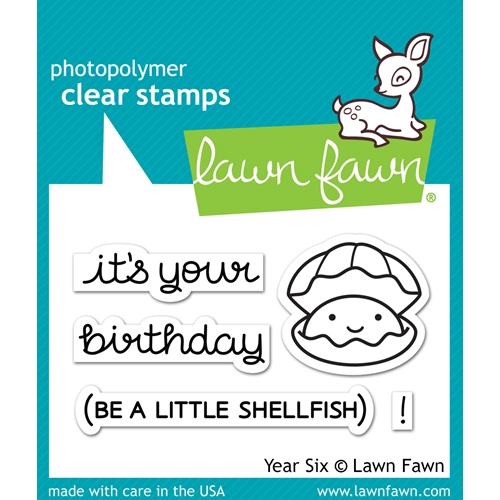 Lawn Fawn YEAR SIX Clear Stamps LF1050 Preview Image