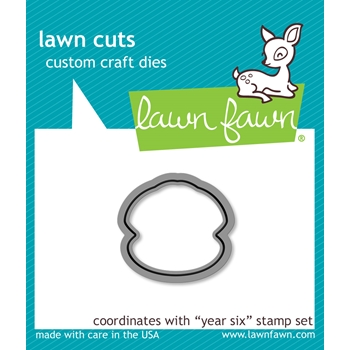 Lawn Fawn YEAR SIX Lawn Cuts LF1051