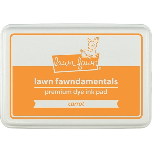 Lawn Fawn CARROT Premium Dye Ink Pad Fawndamentals LF1086 Preview Image
