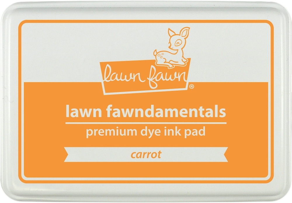 Lawn Fawn CARROT Premium Dye Ink Pad Fawndamentals LF1086 zoom image