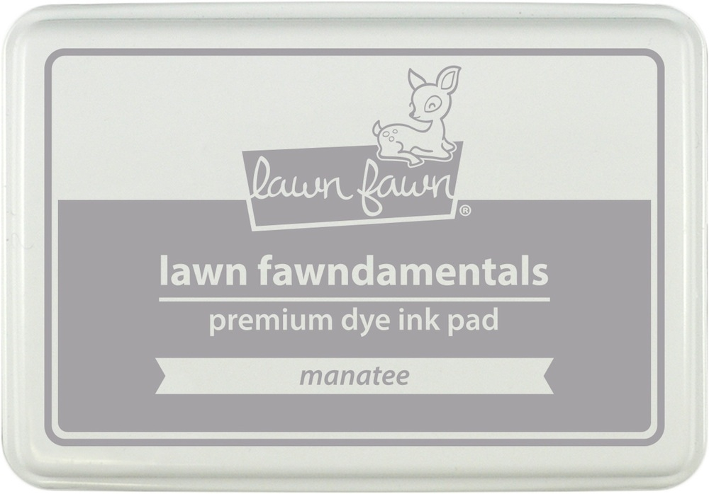 Lawn Fawn MANATEE Premium Dye Ink Pad Fawndamentals LF1090 zoom image