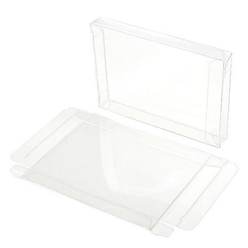 Clear Bags 4-BAR CRYSTAL CLEAR BOX Pack of 6 FB10