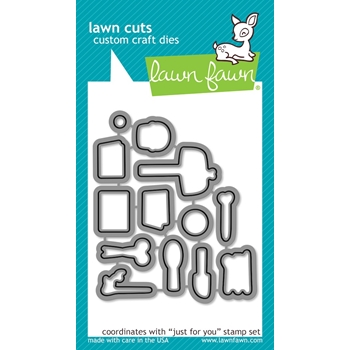 Lawn Fawn JUST FOR YOU Lawn Cuts LF1131