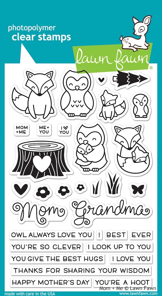 Lawn Fawn MOM AND ME Clear Stamps LF1134 zoom image