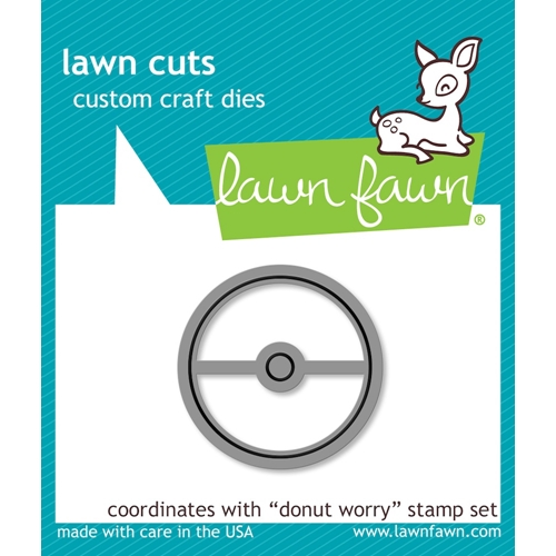 Lawn Fawn DONUT WORRY Lawn Cut LF1137 Preview Image