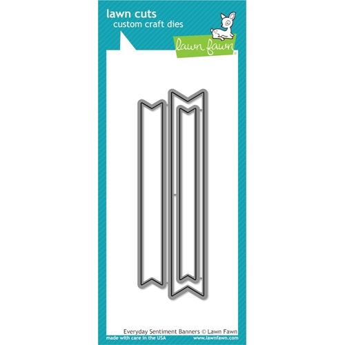 Lawn Fawn EVERYDAY SENTIMENT BANNER Lawn Cuts LF1139 Preview Image
