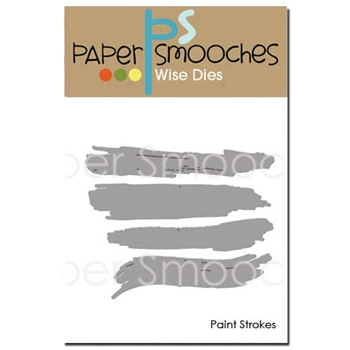 Paper Smooches PAINT STROKES Wise Dies J1D303
