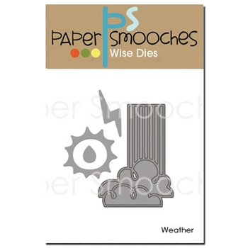 Paper Smooches WEATHER Wise Dies J1D305