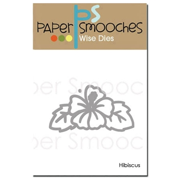 Paper Smooches HIBISCUS Wise Die J1D301