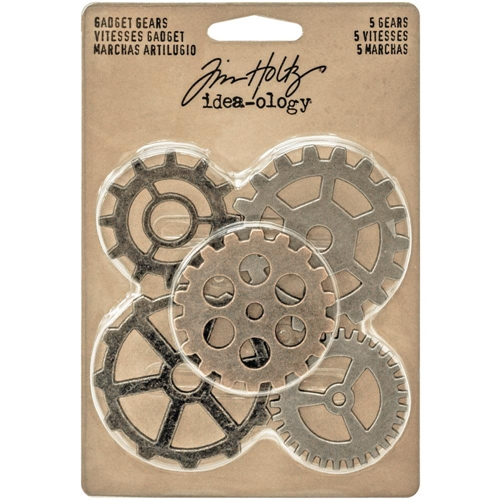 Tim Holtz Idea-ology GADGET GEARS Findings TH93297 Preview Image