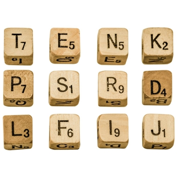 Tim Holtz Idea-ology ALPHA DICE Findings TH93293