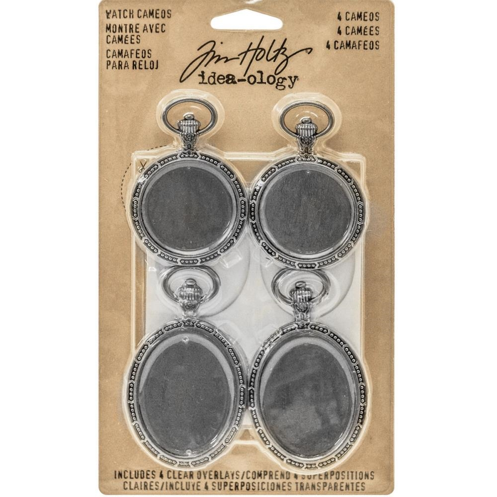 Tim Holtz Idea-ology WATCH CAMEOS Findings TH93264 zoom image