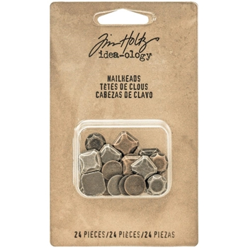 Tim Holtz Idea-ology NAILHEADS Findings TH93277