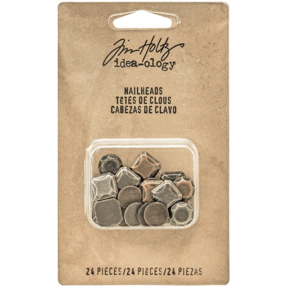 Tim Holtz Idea-ology NAILHEADS Findings TH93277 zoom image