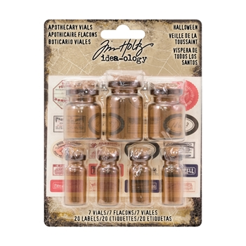 Tim Holtz Idea-ology APOTHECARY VIALS Findings TH93302