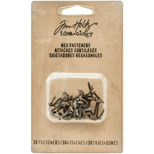 Tim Holtz Idea-ology HEX FASTENERS Findings TH93268 Preview Image