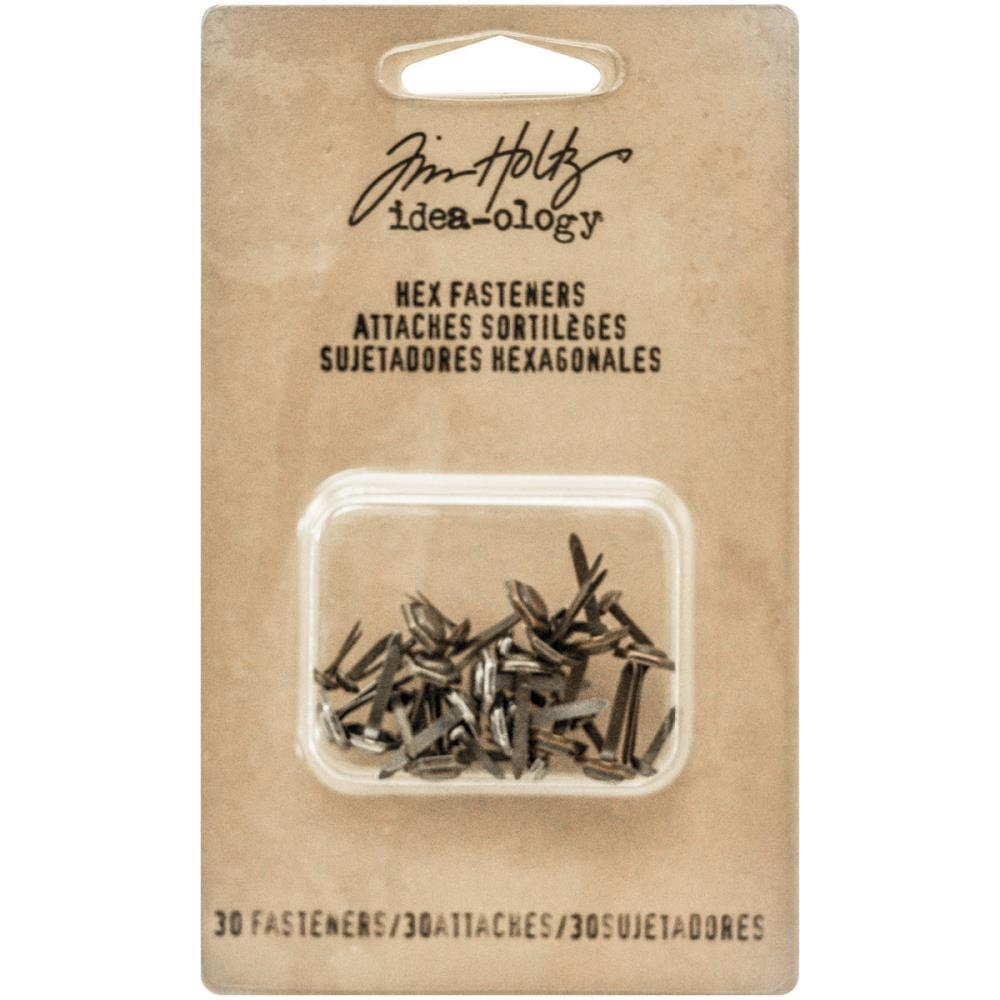 Tim Holtz Idea-ology HEX FASTENERS Findings TH93268 zoom image