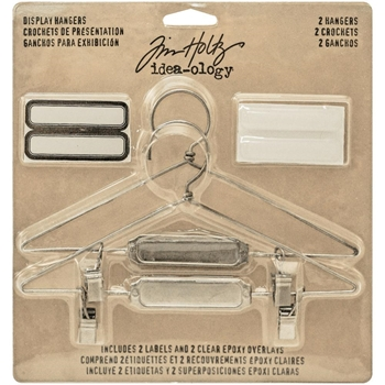 Tim Holtz Idea-ology DISPLAY HANGERS Findings TH93271