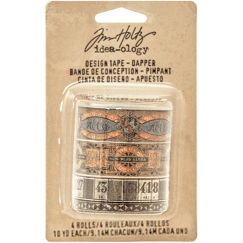 Tim Holtz Idea-ology DAPPER DESIGN TAPE Paperie TH93261