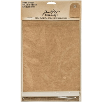 Tim Holtz Idea-ology SUBSTRATE SHEETS Paperie TH93291