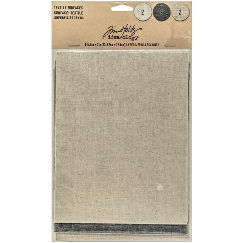 Tim Holtz Idea-ology TEXTILE SURFACES Paperie TH93294 Preview Image