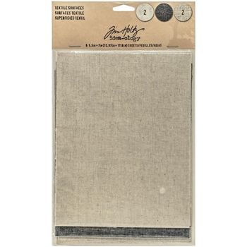 Tim Holtz Idea-ology TEXTILE SURFACES Paperie TH93294
