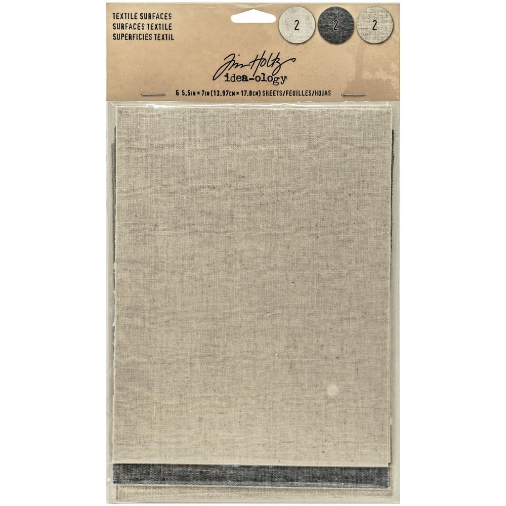 Tim Holtz Idea-ology TEXTILE SURFACES Paperie TH93294 zoom image