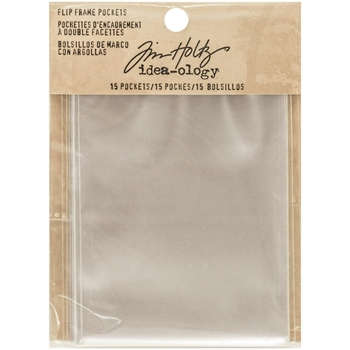 Tim Holtz Idea-ology FLIP FRAME POCKETS Structures TH93276