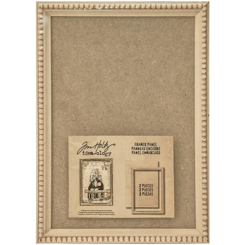 Tim Holtz Framed Panel x2