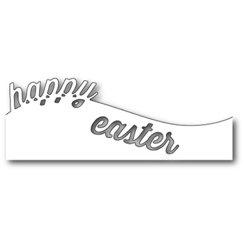 Memory Box CURVED HAPPY EASTER Craft Die 99349