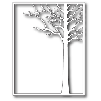 Memory Box FOREST TREE FRAME Craft Die 99413