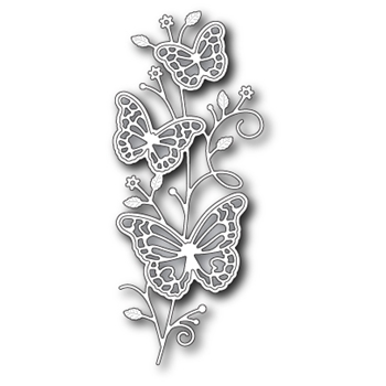Memory Box RYLAN BUTTERFLY STEM Craft Die 99404