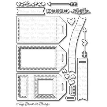 My Favorite Things TAG BUILDER BLUEPRINTS 5 Die-Namics MFT845