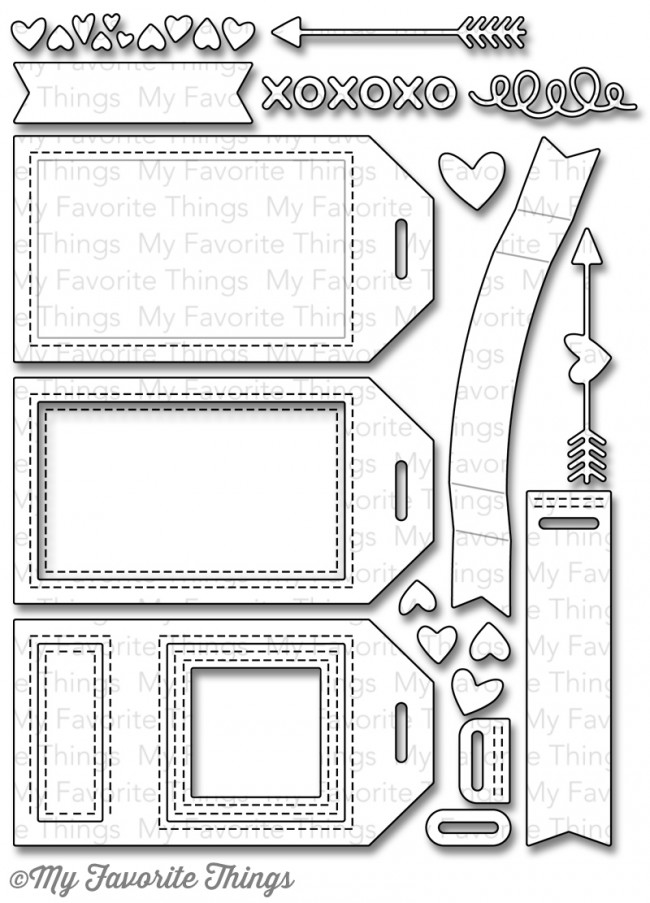My Favorite Things TAG BUILDER BLUEPRINTS 5 Die-Namics MFT845 zoom image