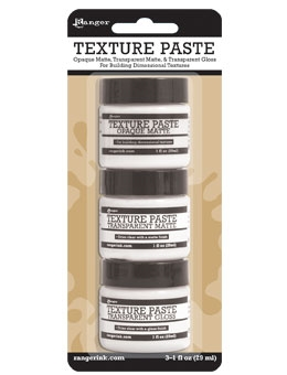 Ranger TEXTURE PASTE ASSORTMENT PACK INK48084