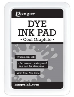 Ranger Dye Ink Pad COOL GRAPHITE RDP49272
