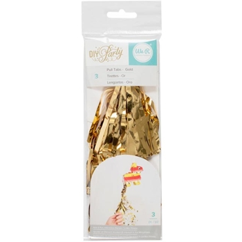 We R Memory Keepers DIY PARTY GOLD PULL TABS Mini Piata 660819