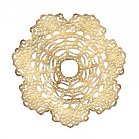 Tim Holtz Sizzix DOILY Thinlits Die 661497 Preview Image