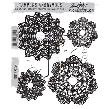 Tim Holtz Cling Rubber Stamps 2016 DOILY CMS254