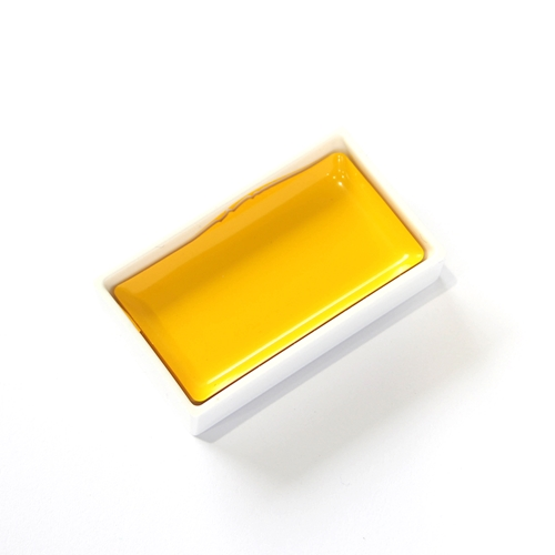 Zig Kuretake Gansai Tambi MID YELLOW Watercolor 30263 Preview Image