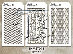 Tim Holtz MINI STENCIL SET 13 MST013