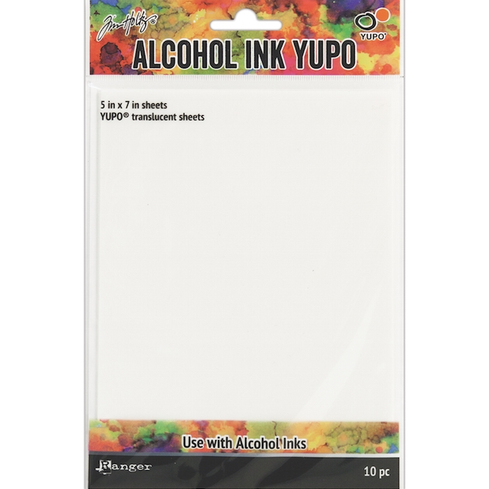 Tim Holtz TRANSLUCENT ALCOHOL INK YUPO PAPER TAC49722 zoom image