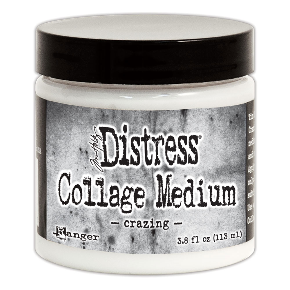Tim Holtz Distress Collage Medium CRAZING TDA47957 zoom image