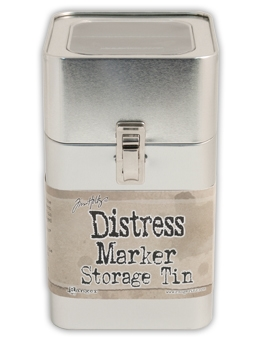 Tim Holtz DISTRESS MARKER STORAGE TIN TDA49425
