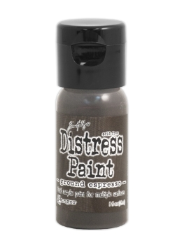 Tim Holtz Flip Top Distress Paint GROUND ESPRESSO Ranger TDF50605 zoom image