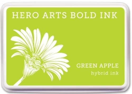 Hero Arts Hybrid Ink Pad GREEN APPLE AF344 zoom image