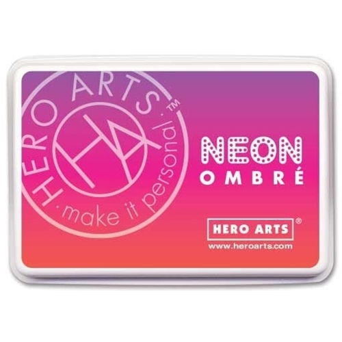 Hero Arts Ombre Neon RED TO PURPLE Ink Pad AF330 Preview Image