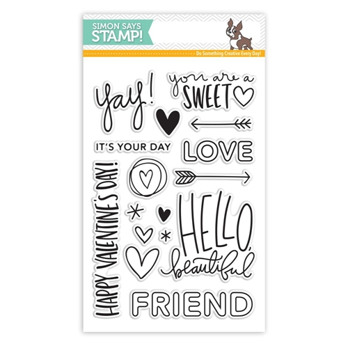 Simon Says Clear Stamps HELLO BEAUTIFUL