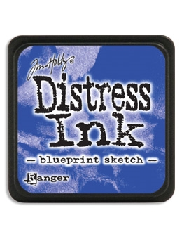 Tim Holtz Distress Mini Ink Pad BLUEPRINT SKETCH Ranger TDP47346