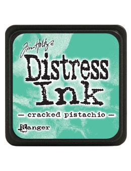 Tim Holtz Distress Mini Ink Pad CRACKED PISTACHIO Ranger TDP46776